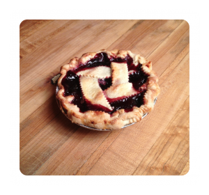 Pesonal Sized Cherry Pie